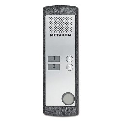 Вызывная панель аудио домофона MK2-X-MF Двухабонентная