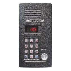 Многоабонентый антивандальный блок вызова МЕТАКОМ MK2012-TM4EN