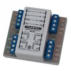 Разветвитель (1 на 4) видеосигнала MKV-D4C