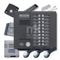 Комплект многоквартирного домофона на 20 абонентов K-MK20.2-TM4EV - видео
