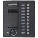 Блок вызова домофона МЕТАКОМ MK10.2-RFEN - Антивандальный