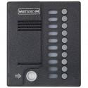 Блок вызова МЕТАКОМ MK10.2-TM4E аудиодомофона прямой адресации