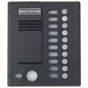Антивандальный блок вызова прямой адресации МЕТАКОМ MK10.2-TM4EN