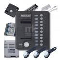 Комплект для аудио домофона на 10 абонентов K-MK10.2-TM4E