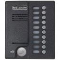 Блок вызова до 10-ти абонентов MK10.2-MFEV